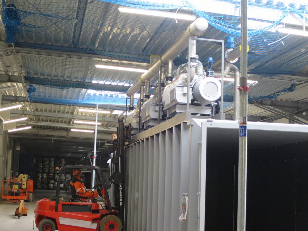 5 tons elektro heftruck